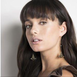 Kendra Scott Diana shoulder duster earrings